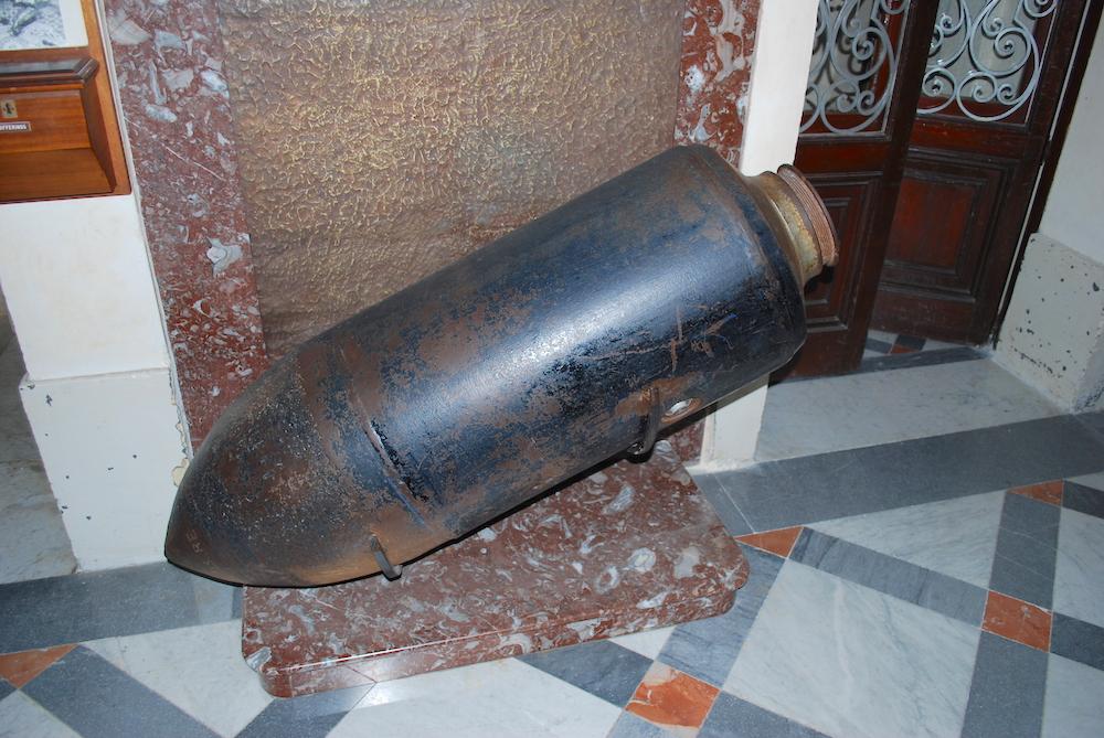 WW2 Bomb Replica Malta