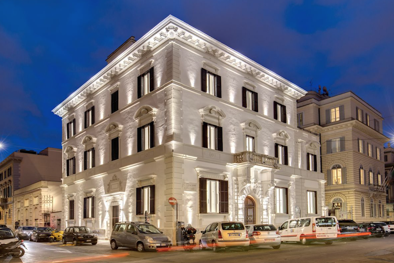 Luxury boutique hotel Rome