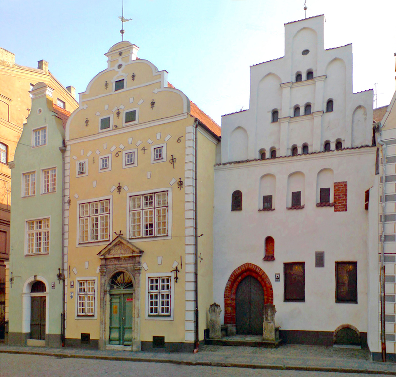 Things to do in Riga - The Three Brothers