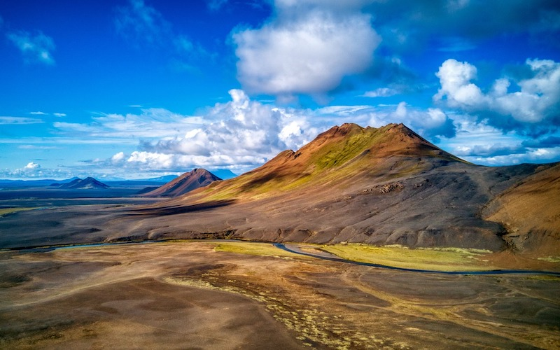 Iceland from above helicopter tours