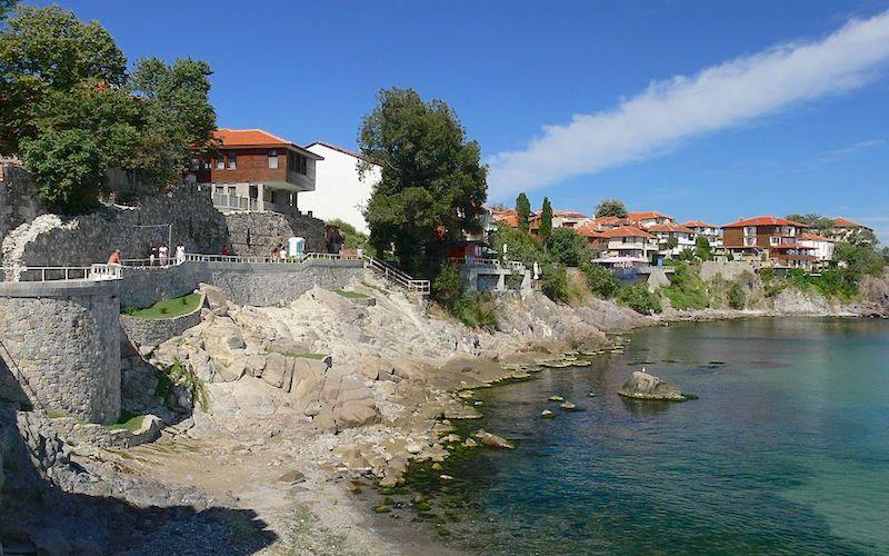 Sozopol Bulgaria Coastline